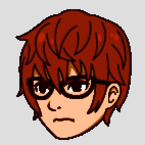 赤神普通の顔