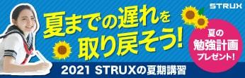 夏で遅れを取り戻す、学習塾STRUXの夏期講習