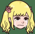 さきさき泣く表情