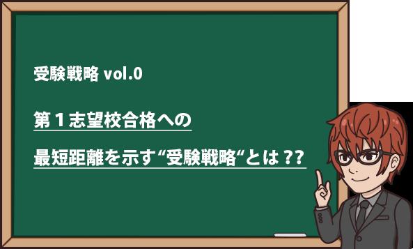 """第1志望校への最短距離を示す""""受験計画""""とは??"""