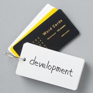 カード式単語帳