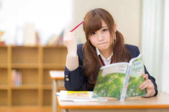 文化史の勉強がわからずに困る女子高生