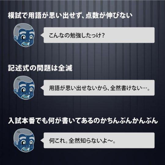 日本史一問一答をやらなかったときの未来絵図