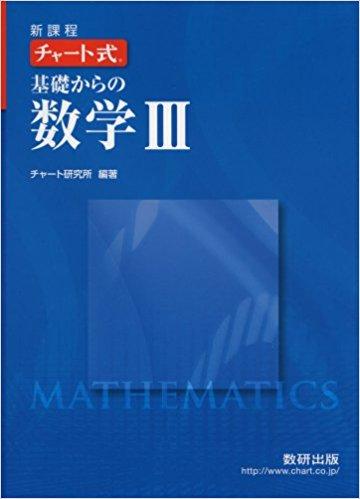 青チャート数学Ⅲ