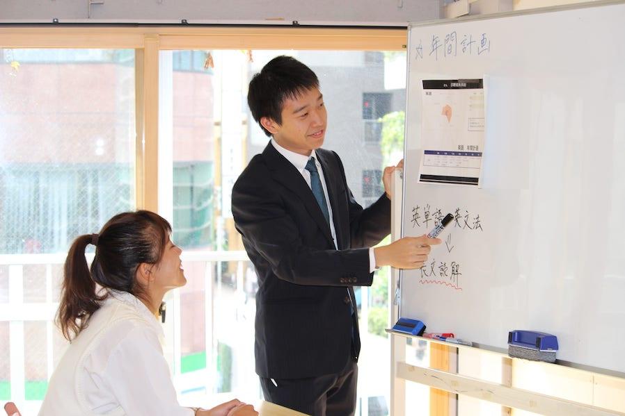 勉強計画指導の写真